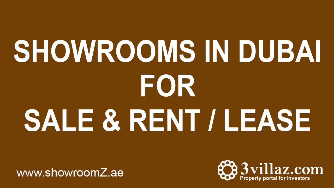 showrooms for rent in dubai