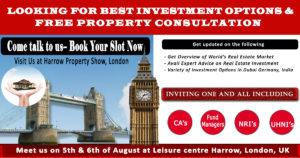 Harrow Property Show Banner For Social Media